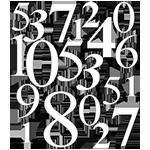icon liczby - Home