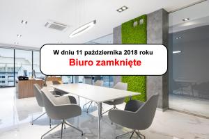 sako 20181011 biuro zamkniete 300x200 - W dniu 11 października 2018 w związku z konferencją w Tłokini Kościelnej, Biuro Aglomeracji Kalisko-Ostrowskiej będzie czynne tylko do godziny 11:30