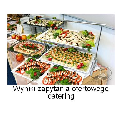 wyniki catering - Wyniki zapytania ofertowego - Catering