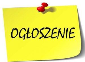 """ogloszenie 1 300x217 - Informacja o wyborze wykonawcy opracowanie dokumentu pn. """"Program poprawy bezpieczeństwa na obszarze Aglomeracji Kalisko-Ostrowskiej"""""""