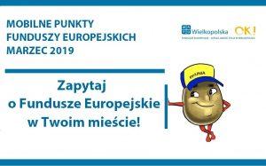 53074212 2316425375280807 5255072591814590464 o 300x187 - Mobilne Punkty Informacyjne Funduszy Europejskich w marcu 2019 roku