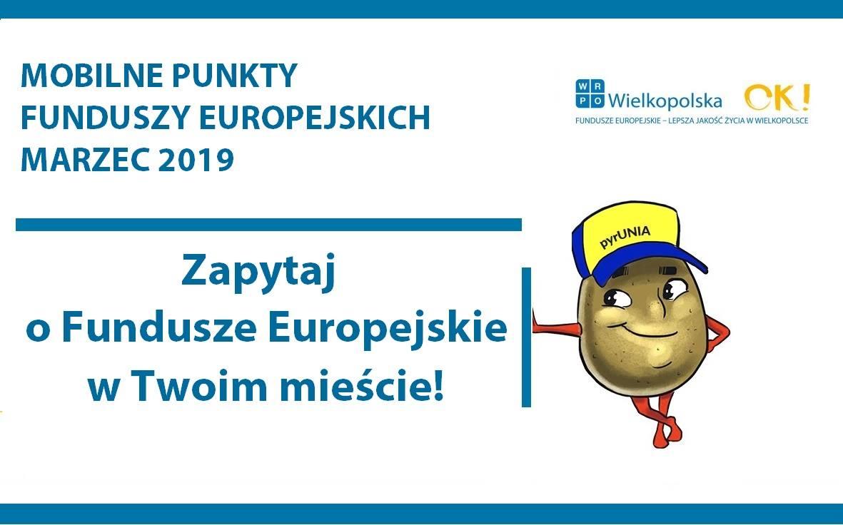 53074212 2316425375280807 5255072591814590464 o - Mobilne Punkty Informacyjne Funduszy Europejskich w marcu 2019 roku