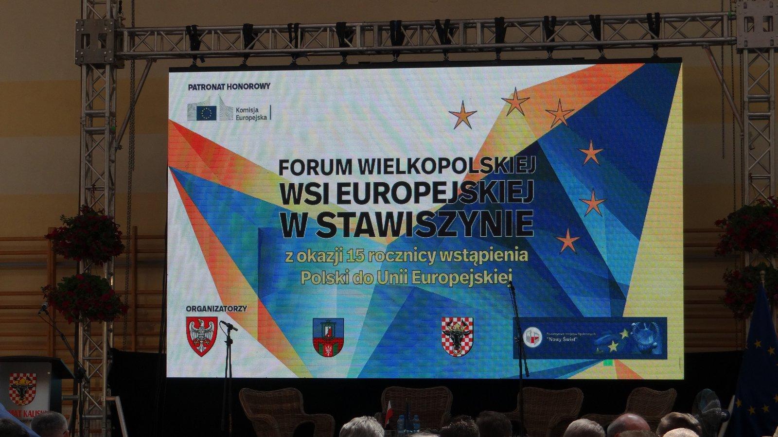dsc09441 - Wielkopolska zaradność i pracowitość doceniona na Forum Wielkopolskiej Wsi Europejskiej