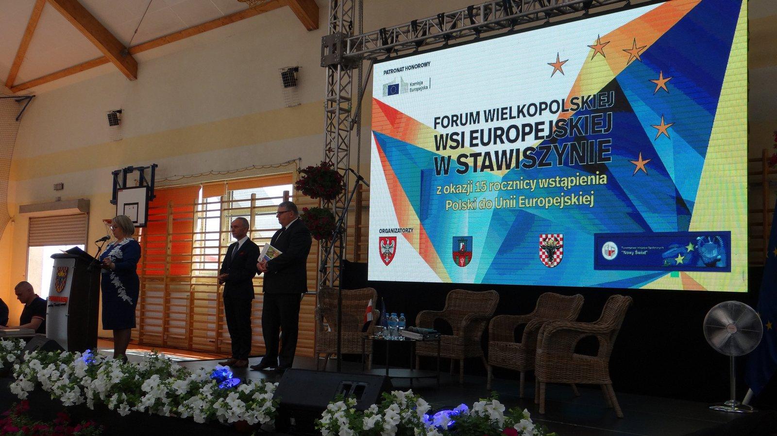 dsc09461 - Wielkopolska zaradność i pracowitość doceniona na Forum Wielkopolskiej Wsi Europejskiej