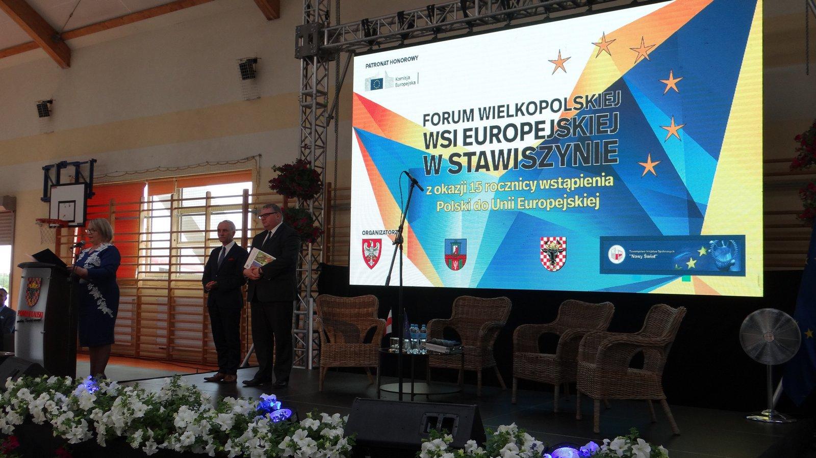 dsc09469 - Wielkopolska zaradność i pracowitość doceniona na Forum Wielkopolskiej Wsi Europejskiej