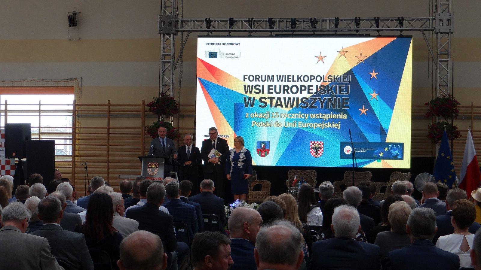 dsc09470 - Wielkopolska zaradność i pracowitość doceniona na Forum Wielkopolskiej Wsi Europejskiej