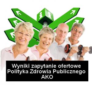 wyniki zapytanie polityka zdrowia publ ako 300x278 - Informacja o wyborze wykonawcy