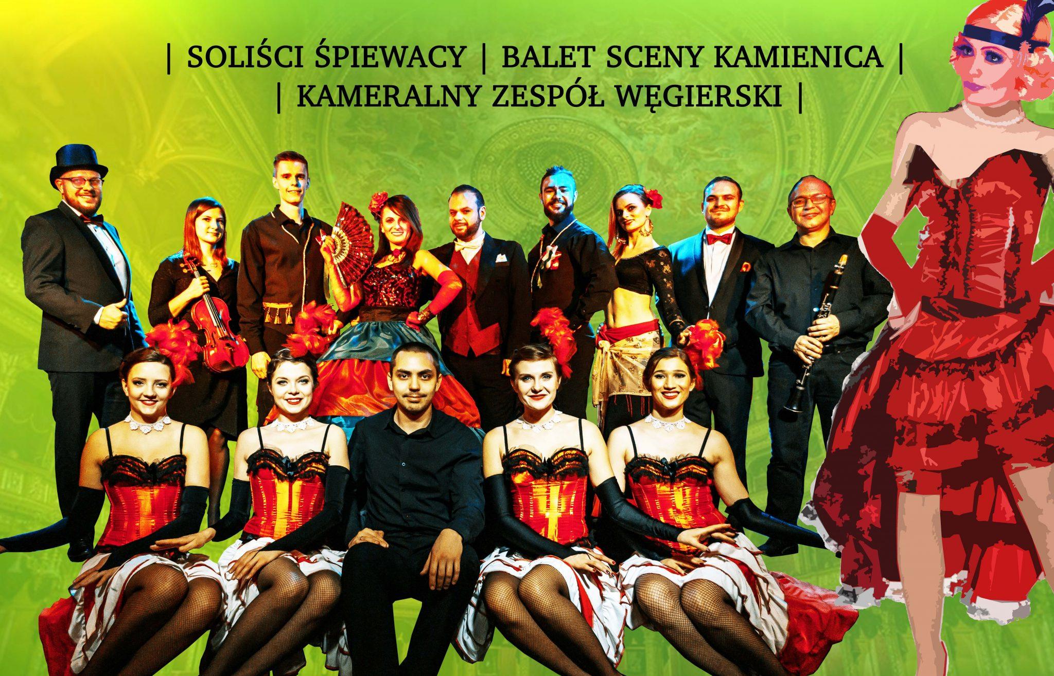 """2 - Spektakl """"Węgierskie Czardasze i Tańce"""" w specjalnej ofercie dla Seniorów"""
