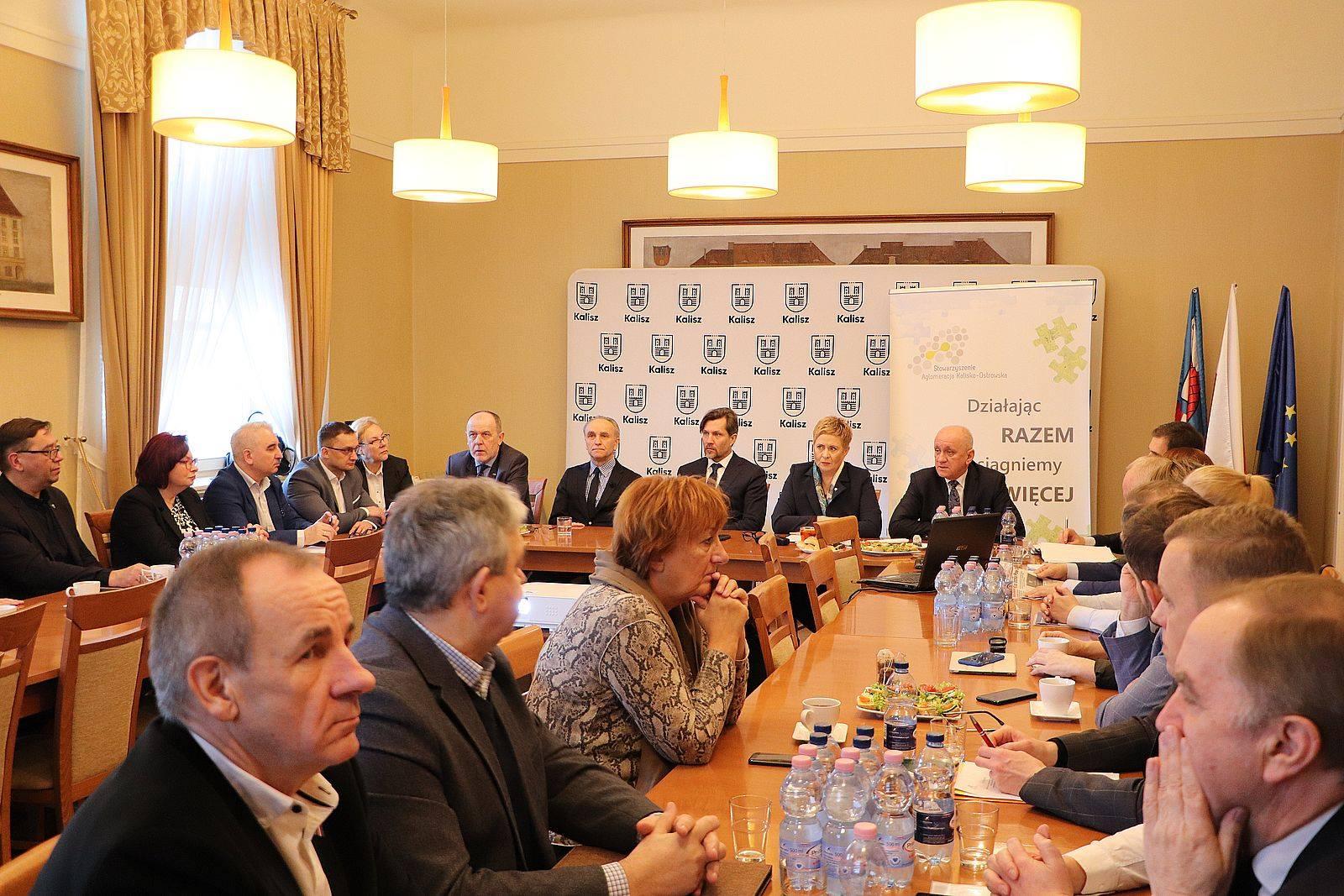82732554 1474947236003929 2582168509115006976 o - Rada Aglomeracji Kalisko-Ostrowskiej popiera Kalisz w dążeniach do budowy obwodnicy miasta