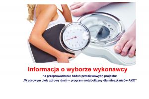 info wykonawca badania przesiewowe 300x200 - Informacja o umorzeniu postępowania na przeprowadzenie badań przesiewowych kwalifikujących do udziału w projekcie