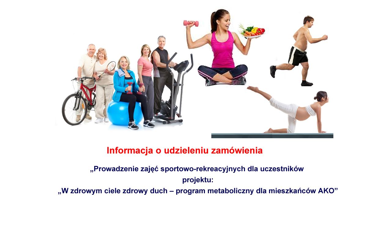 info udziel zamow zs - Informacja o udzieleniu zamówienia - prowadzenie zajęć sportowo-rekreacyjnych