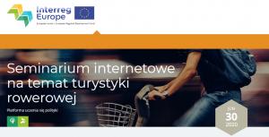 seminarium 300x153 - Seminarium internetowe na temat turystyki rowerowej