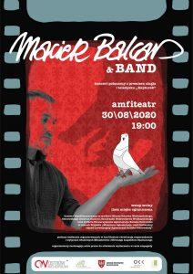 balcar amfiteatr afiszv2 dodruku 212x300 - Zapraszamy nakoncert wOstrowie Wielkopolski - Maciek Balcar & Band