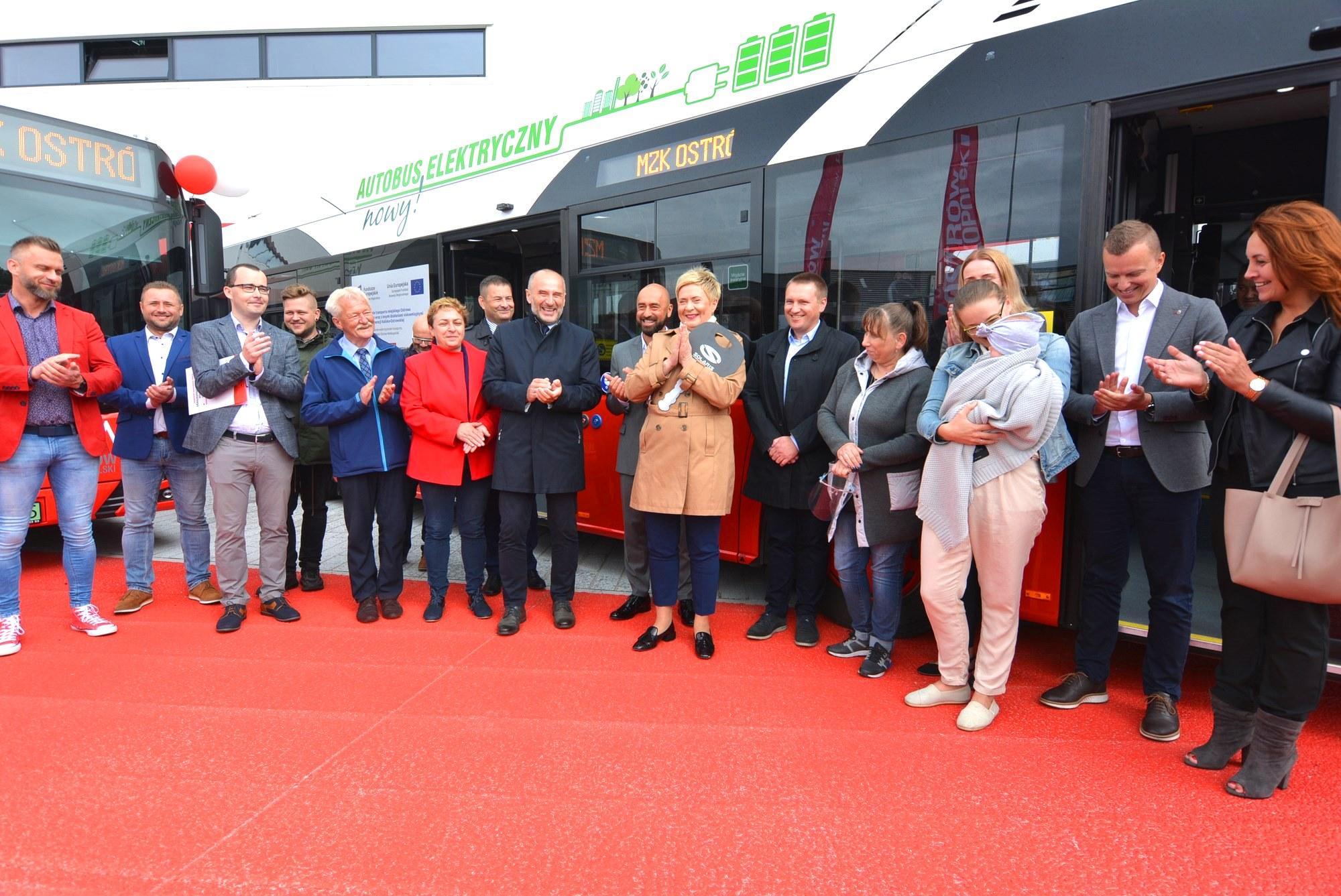 dsc 0288 - Nowe autobusy elektryczne w Ostrowie Wielkopolskim