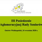 ars 24.09.2020 150x150 - III Posiedzenie Aglomeracyjnej Rady Seniorów - zaproszenie