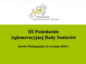 ars 24.09.2020 300x225 - III Posiedzenie Aglomeracyjnej Rady Seniorów - zaproszenie