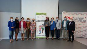 Na zdjęciu uczestnicy Posiedzenia Aglomeracyjnej Rady Seniorów.