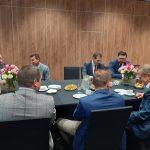 Uczestnicy spotkania w trakcie dyskusji