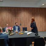 Otwarcie spotkania dokonuje Dyrektor Biura E. Milewska.