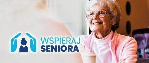 Grafika promująca program Wspieraj Seniora