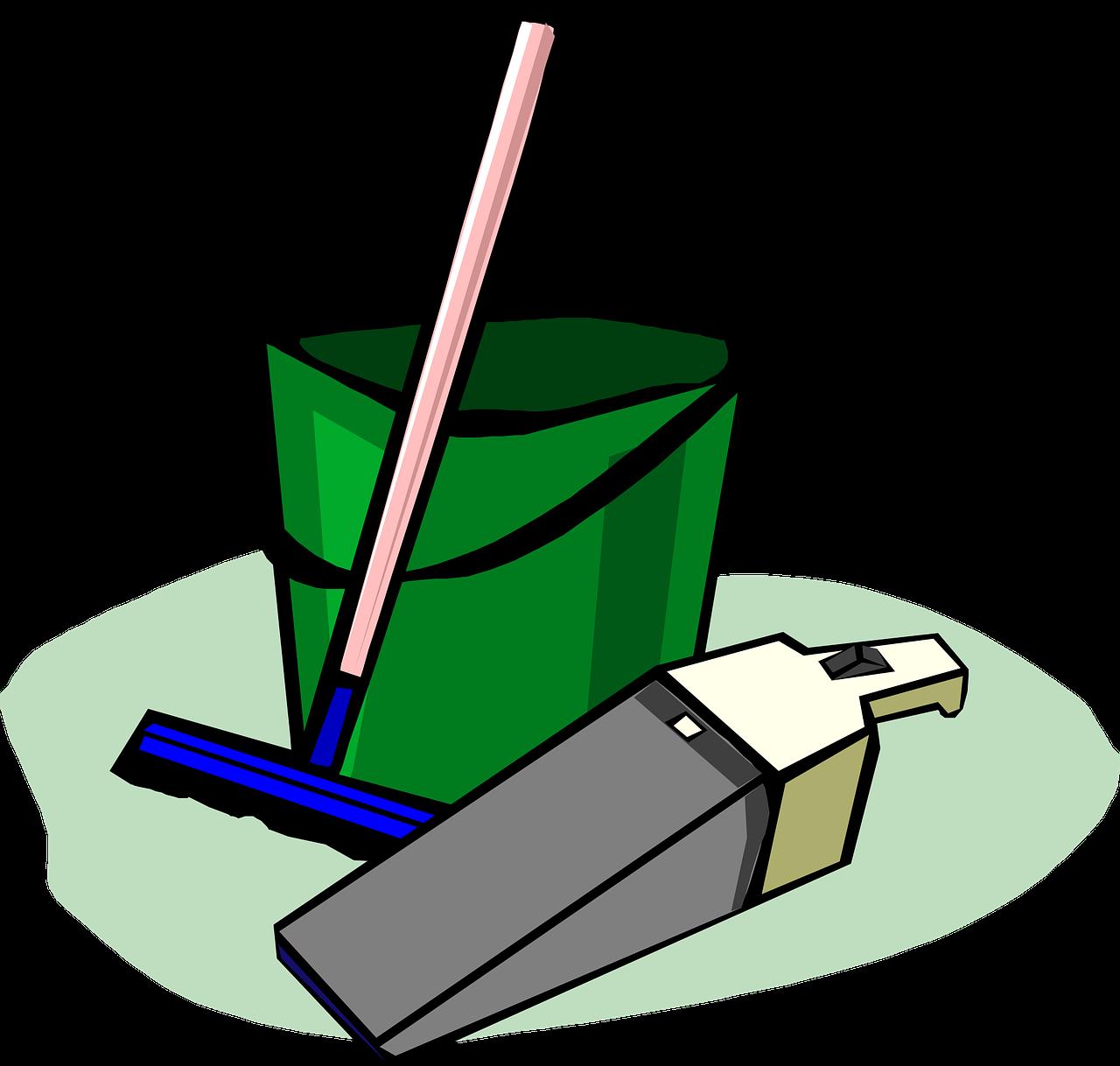 bucket 303265 1280 - Zapytanie ofertowe – na świadczenie usługi sprzątania Biura Stowarzyszenia Aglomeracja Kalisko-Ostrowska