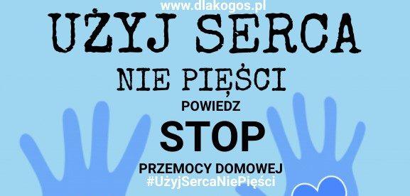 """uzyj sercanie piesci plakat 2021 e1623071894577 - Wspieramy ogólnopolską akcję społeczną pn. """"UŻYJ SERCA, NIE PIĘŚCI"""" !"""