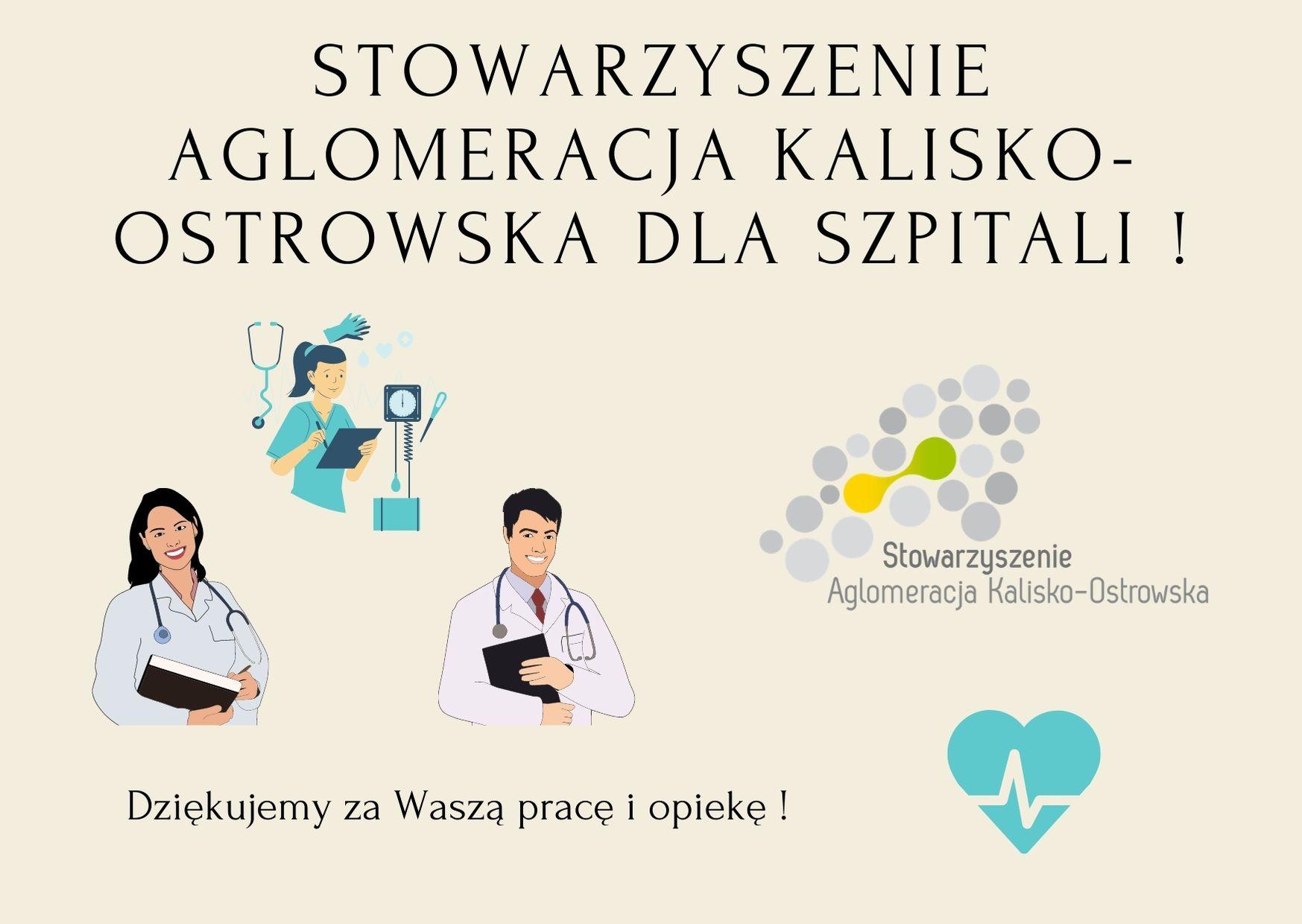 """stowarzyszenie aglomeracja kalisko ostrowska dla szpitali  - Wsparcie dla szpitali w ramach projektu pn. """"Program edukacji zdrowotnej, wykrywania HBV i HCV oraz szczepień przeciwko WZW typu B na terenie Aglomeracji Kalisko-Ostrowskiej"""" !"""