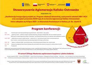 006 wzw zaproszenie 2021 obszar roboczy 1 1 300x212 - Zapraszamy nakonferencję inaugurującą projekt pn.Program edukacji zdrowotnej, wykrywania zakażeń HBV iHCV orazszczepień przeciwko WZW typu B naterenie Aglomeracji Kalisko-Ostrowskiej !
