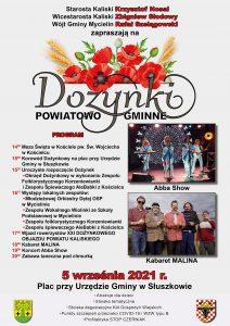 gmina mycielin dozynki 212x300 - Dożynki w Słuszkowie wraz z szczepieniami przeciw WZW typu B oraz profilaktyką STOP CZERNIAK.