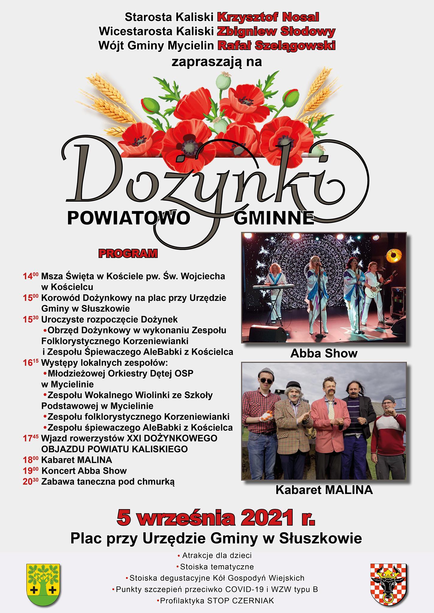 gmina mycielin dozynki - Dożynki w Słuszkowie wraz z szczepieniami przeciw WZW typu B oraz profilaktyką STOP CZERNIAK.