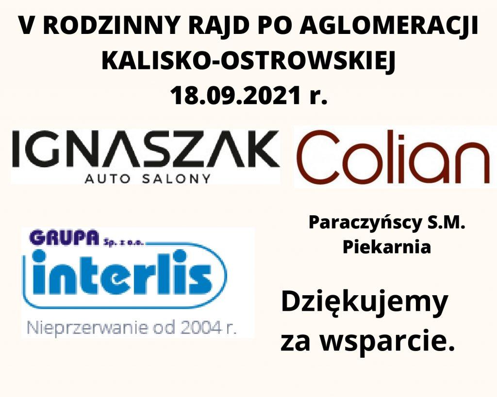 v rajd page 0001 1024x819 - V Rodzinny Rajd Rowerowy poAglomeracji Kalisko-Ostrowskiej !
