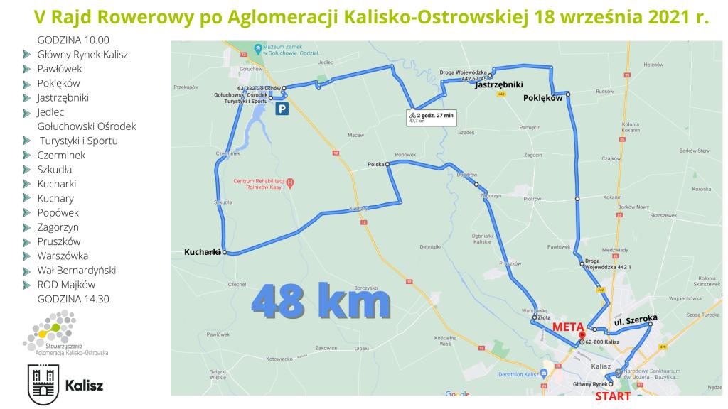 v rajd poaglomeracji kalisko ostrowskiej 18 wrzesnia 2021 r. 1 1024x576 - V Rodzinny Rajd Rowerowy poAglomeracji Kalisko-Ostrowskiej !