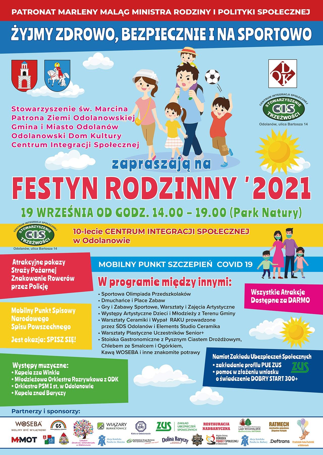 festyn rodzinny 2021 odolanow - Festyn Rodzinny w Odolanowie.