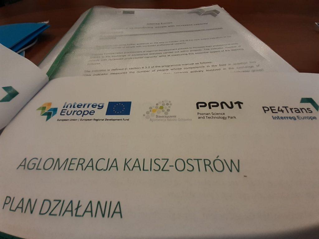 """16 1024x768 - 22-23 września 2021 r. wKaliszu odbyło się spotkanie projektowe wramach międzynarodowego projektu pn.""""Zaangażowanie Publiczne naRzecz Zrównoważonego Transportu Publicznego - PE4 Trans"""""""